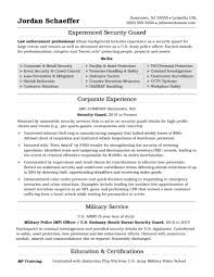 Retail Security Officer Resume Examples Templates Transportation