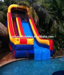 In ground pools with slides Unique Pool Hurricane Into The Inground Pool Slide Slides Canada Customized Inflatable For Tumfirmalar Hurricane Into The Inground Pool Slide Slides Canada Customized
