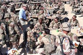 in a brief history of s involvement from george hw bush meets troops