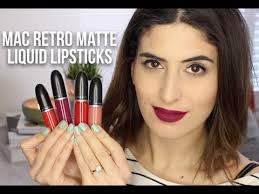 <b>MAC</b> Retro Matte Liquid Lipsticks: Review & Swatches | Lily Pebbles ...