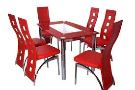 red kitchen table set best of and chairs sets dinette retro square with 4