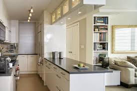 Kitchen Decorating Long Thin Kitchen Ideas Simple Kitchen Design