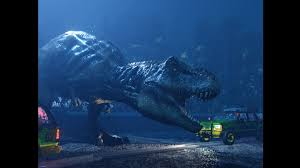 hi this is a recreated scene from juric park where you have to try not to while being chased by rexy you can enter only one car