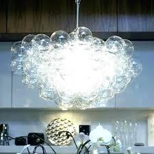 bubble lights chandelier bubble light fixture simple ball pendant lamp due glass chandelier suspension custom awesome