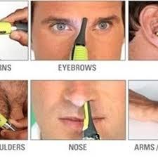eyebrow trimmer men. handsome men body nose nasal ears e.. eyebrow trimmer s