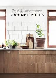 recessed cabinet pulls. Contemporary Pulls On Recessed Cabinet Pulls O