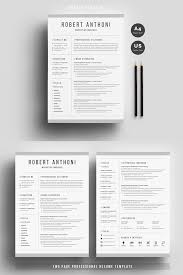 91 Clean Resume Template Clean Resume Template Word Free