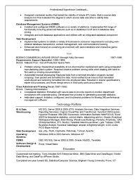 Technical Trainer Resume Technical Trainer Resume Example