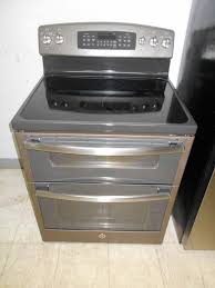 ge slate gas range. Scratch And Dent GE Slate Color Freestanding Electric Smooth Surface Double Range. 6 Month Warranty. Ge Gas Range