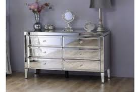 Lovely Image Is Loading Venetian Mirrored Low Wide 6 Drawer Chest Mirror