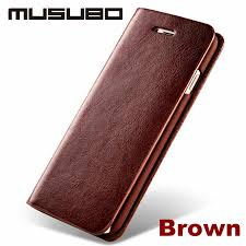 new genuine real leather case for apple 7 plus iphone 6s plus luxury phone cases iphone 6 cover iphone 5 5s se 4 with card slot flip holster