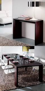 dining room furniture small spaces. our goliath table closes to save space and opens seat a party of up ten psfkhome saving tables pinterest spaces dining room furniture small