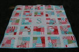Scrappy Initial Patchwork Quilt PaTTERN PDF - Baby Quilt - Lap ... & Scrappy Initial Patchwork Quilt PaTTERN PDF - Baby Quilt - Lap Quilt - Fat  Quarters - Personalized Quilt PDF from dahliainbloom on Etsy Studio Adamdwight.com