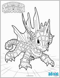 Color Alive Pages Skylanders Admirable Free Coloring Of 820 1060