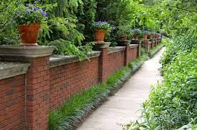 brick wall gardens
