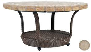 round patio coffee table appealing round outdoor coffee table with attractive stone outdoor coffee table outdoor coffee table round thresholdtm heatherstone