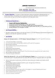 Rf Test Engineer Sample Resume Interesting ArnabGanguly Cv RF Optimization