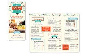 Microsoft Word Restaurant Menu Template Cool Family Restaurant Takeout Brochure Template Word Publisher