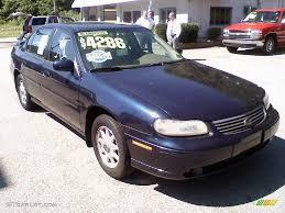 Malibu 99 chevrolet malibu : 1999 Navy Blue Metallic Chevrolet Malibu LS Gold Edition Sedan ...