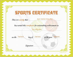 microsoft office certificate template sports certificate template for ms word download at http