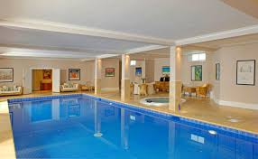 Home Set Woodland Basement Swimming Pool Frompo Building Plans