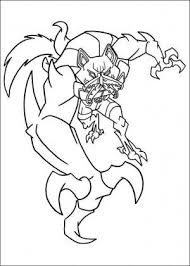 ben 10 coloring page 48