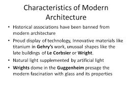 Modern Architecture Characteristics Simple Modern Architecture  Characteristics O On Inspiration Decorating
