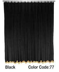 theater style curtains