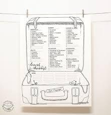 Best 25+ Packing list template ideas on Pinterest   Travel packing ...