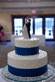 simple blue wedding cake. Plain Wedding Royal Blue Wedding Cake With Ribbon Inside Simple