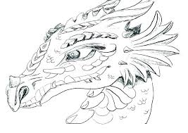 Realistic Dragon Coloring Pages Chronicles Network