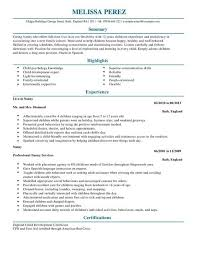 Nanny Resume Template Adorable Nanny Resume Skills Fair A Nanny Resume Examples Resume Examples