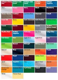 Gildan Color Chart 2019 Gildan 5 3oz