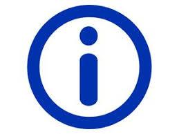 Bildergebnis für information symbol