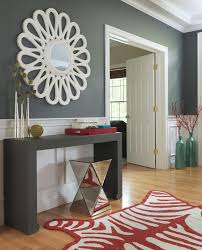 borghese mirrored furniture. Boston Borghese Mirrored Furniture With Contemporary Vases Entry Transitional And Wainscoting