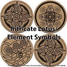 Avatar White Lotus Coaster Set — Art ...