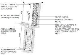 Small Picture Timber Post Retaining Wall Costings New Zealand