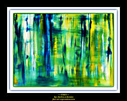 wonderful abstract art acrylic painting techniques