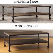 splurge dutch industrial coffee table 1295