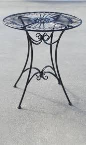 wrought iron tables for