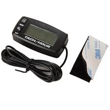 2019 Waterproof <b>LCD Backlight Digital</b> Resettable <b>Inductive</b> Tacho ...
