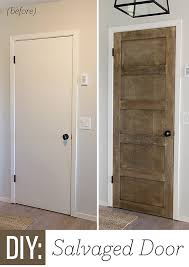 it was simple enough to do to the rest of the doors in the house