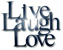 live laugh love wall art metal live laugh love wall hanging decor 4 sizes available black