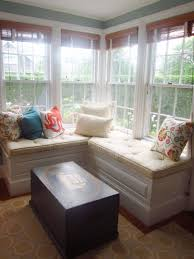 Kitchen:Trapezoid Window Seat Cushions Bay Window Kitchen Table Bench Bay Window  Dining Table Window