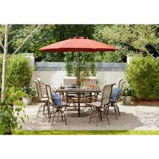 outdoor table umbrella with lights