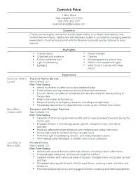 Nanny Resume Magnificent Nanny Resume Cover Letter Nanny Resume Cover Letter Unique Best