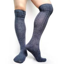 Толстые <b>трикотажные мужские</b> чулки, <b>носки</b> выше колен ...