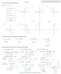 solving exponential equations worksheet solving exponential 63527