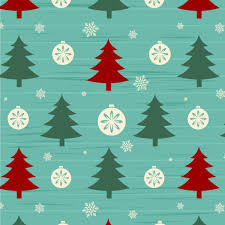 Free Christmas Tree Template Christmas Tree With Snow Seamless Pattern Vector Free Vector In