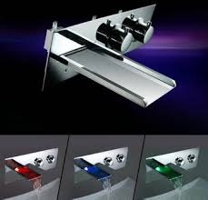 bathroom sink and faucet sets. buy new bathroom sink faucet wall mounted led waterfall tub chrome faucets mixers \u0026 taps 3 pcs bathtub set jn6401 in cheap price on alibaba. and sets